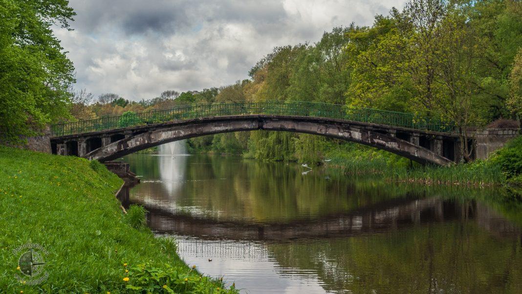 mostek Jezioro Rusałka remont