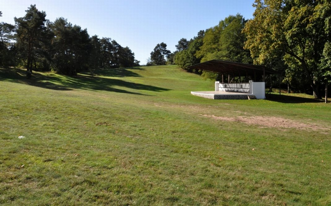 park amfiteatr przedszkole Wolin modernizacja