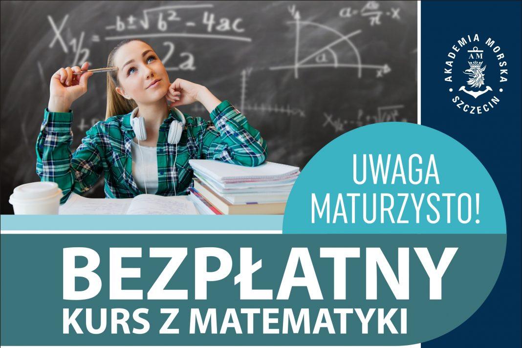 matura matematyka bezpłatny kurs Akademia Morska