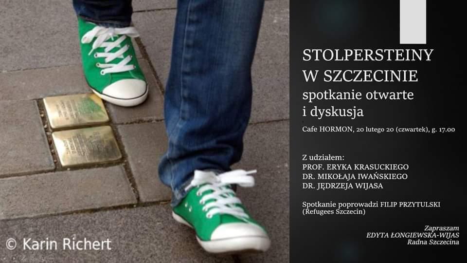 Stolpersteiny w Szczecinie