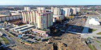 przebudowa ul. Szafera postęp prac luty 2020