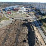 przebudowa ul.Szafera postęp prac luty 2020