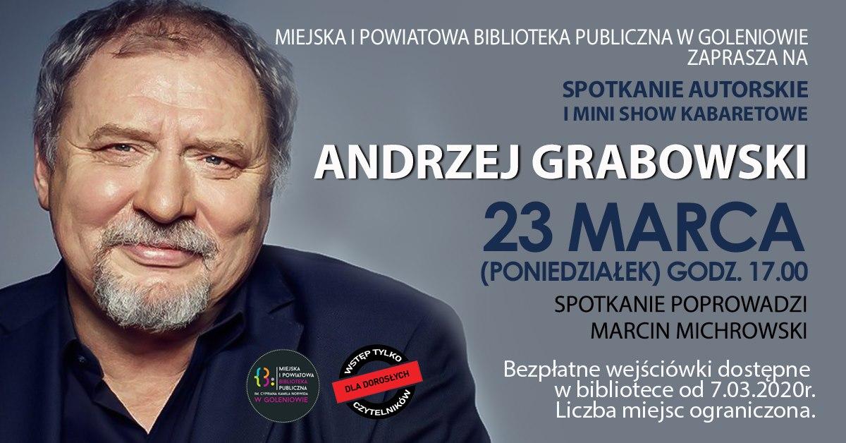 Andrzej Grabowski spotkanie autorskie i mini show kabaretowe