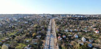 ulica Hoża przebudowa stan prac marzec 2020