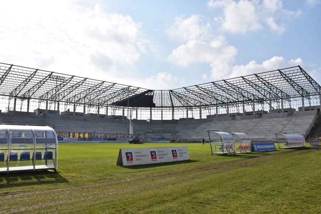 Stadion Miejski postęp prac marzec 2020