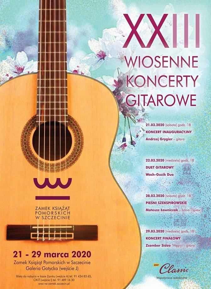 XXIII Wiosenne Koncerty Gitarowe