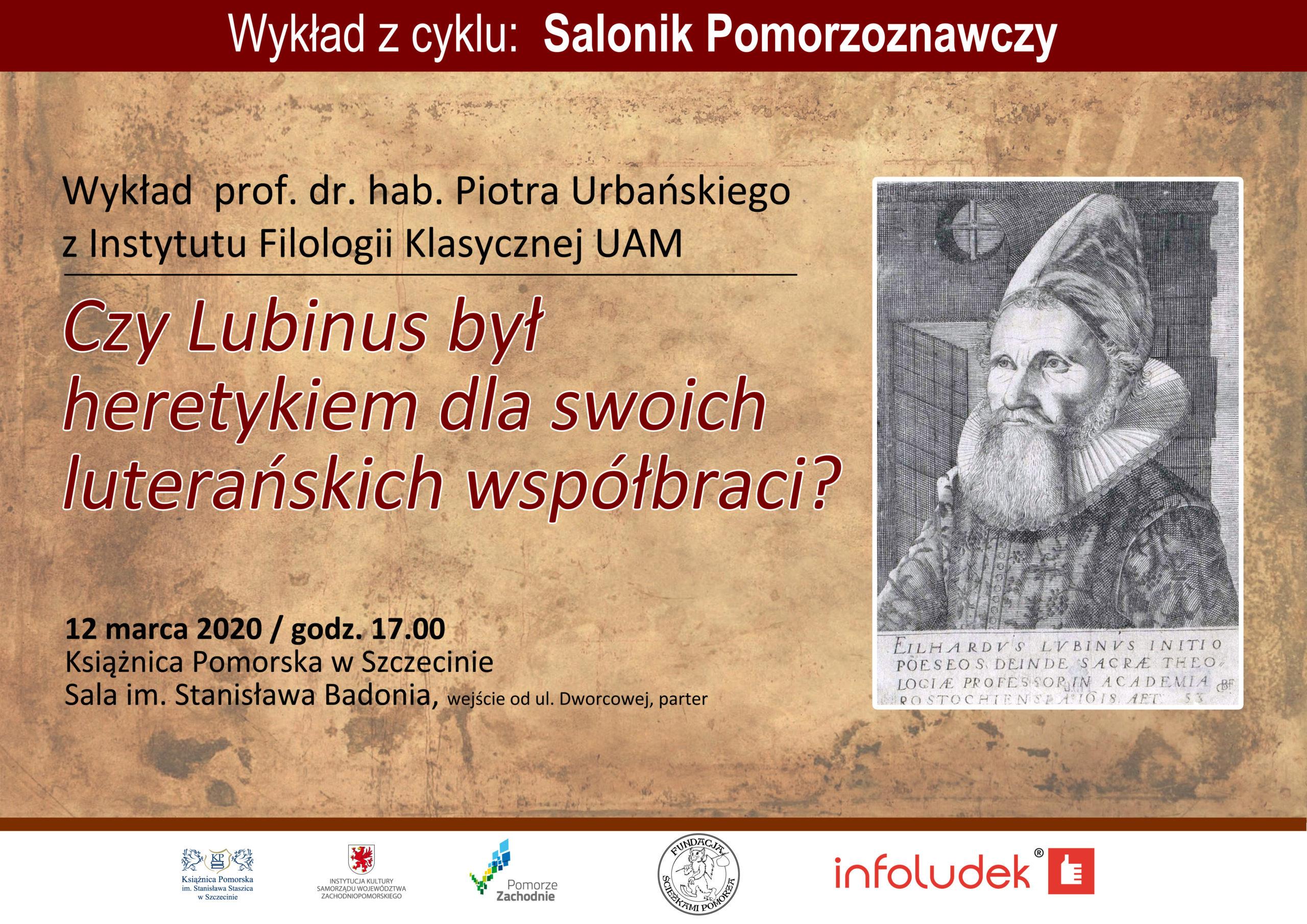 Wykład prof. dr. hab. Piotra Urbańskiego