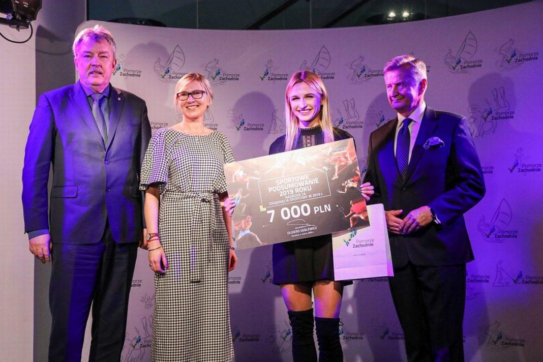 sportowcy trenerzy Pomorze Zachodnie nagrody marszałek