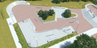 skatepark osiedle Majowe
