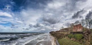 silny wiatr Pomorze Zachodnie ostrzeżenie marzec 2020