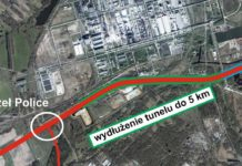 Zachodnia Obwodnica Szczecina tunel wydłużenie