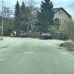 ulica Zbyszka zBogdańca Axentowicza przebudowa