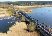 otwarcie mostu Siekierki Neurüdnitz