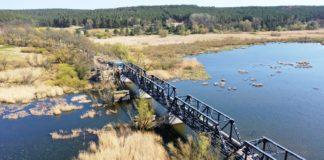 most Siekierki-Neurüdnitz postęp prac kwiecień 2020