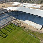 stadion miejski postęp prac kwiecień 2020