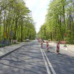 ulica Przęsocińska przebudowa stan prac kwiecień 2020