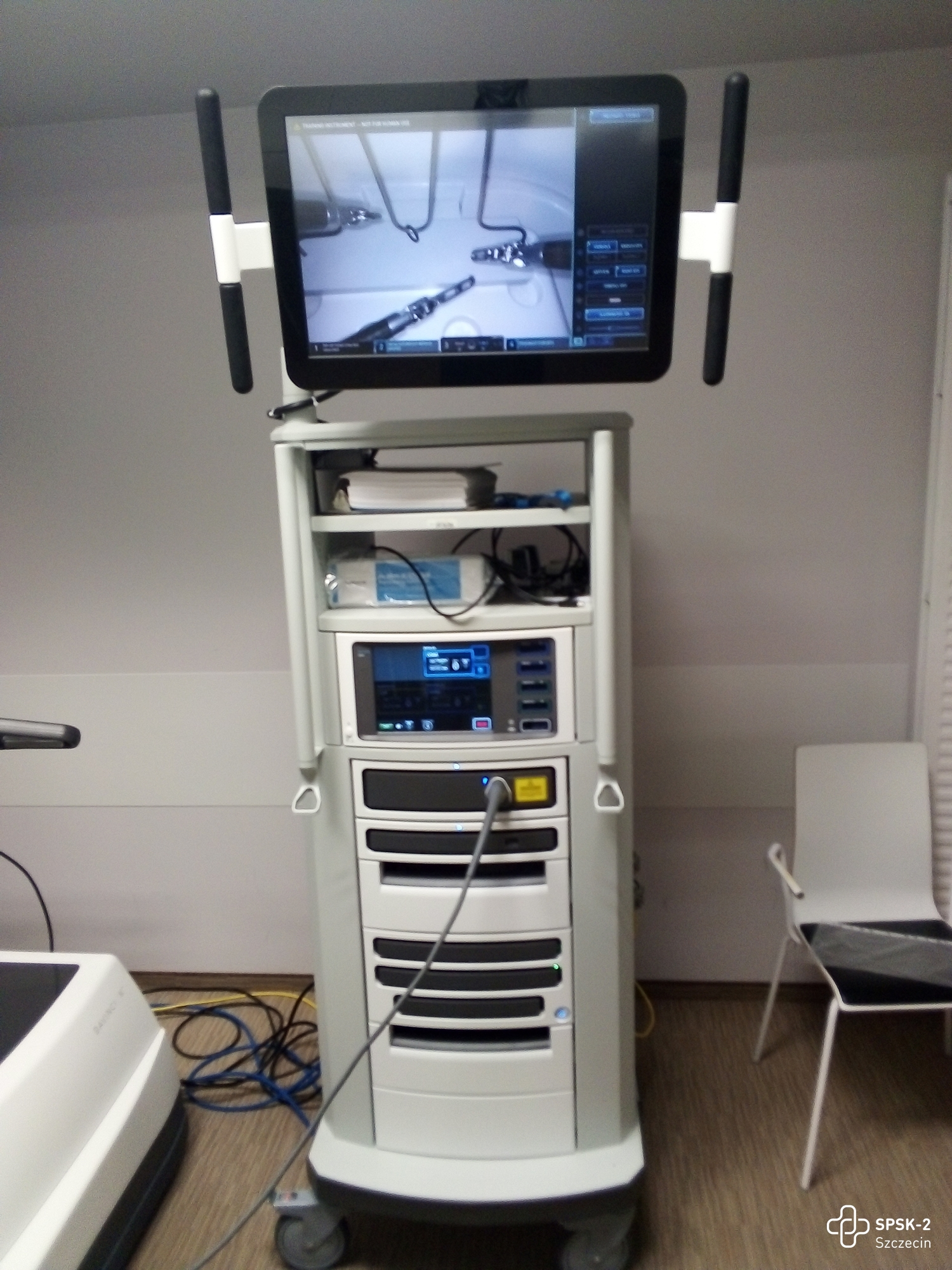 robot da Vinci szpital Pomorzany