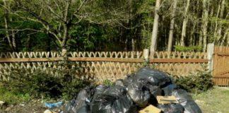 śmieci lasy miejskie Szczecin