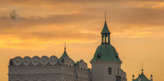 świetlne serce pokaz Light The Sky Szczecin
