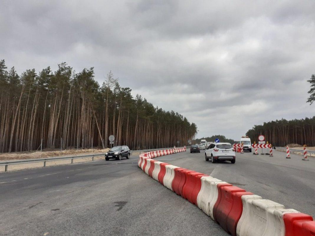 trasa Szczecin Świnoujście organizacja ruchu zmiana