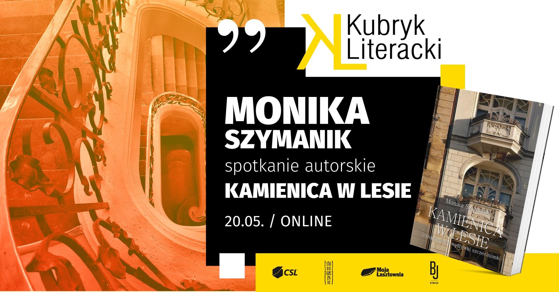 Kubryk Literacki online: spotkanie z Moniką Szymanik