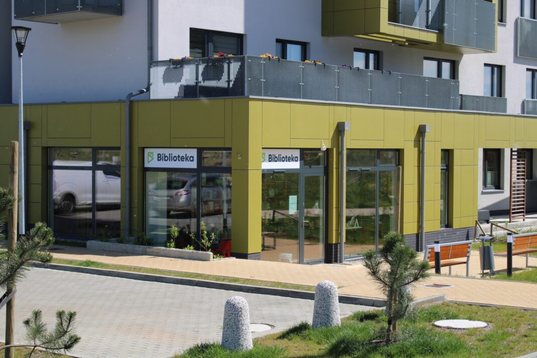 biblioteka Wrzosowe Wzgórze Szczecin