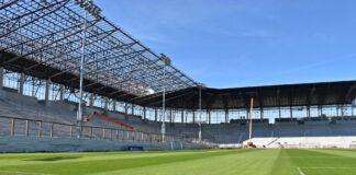 stadion miejski Szczecin stan prac maj 2020