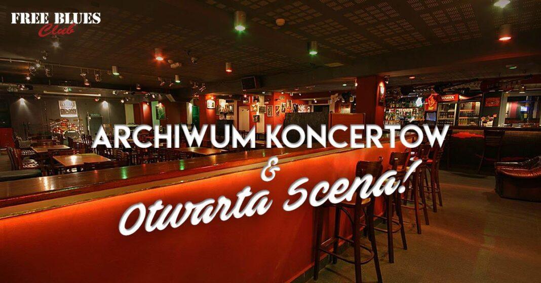 Free Blues Club Szczecin wznowienie działalności maj 2020