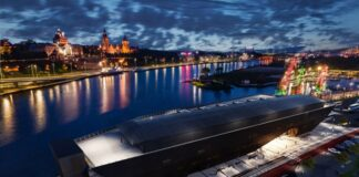 Morskie Centrum Nauki Szczecin wizualizacje maj 2020