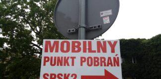 Mobilny Punkt Pobrań szpital Pomorzany Szczecin