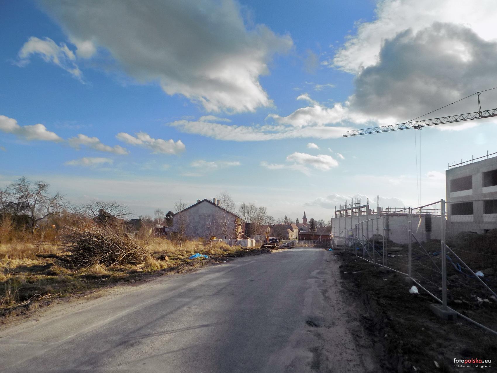 ulica Nowoszkolna Szczecin budowa przetarg