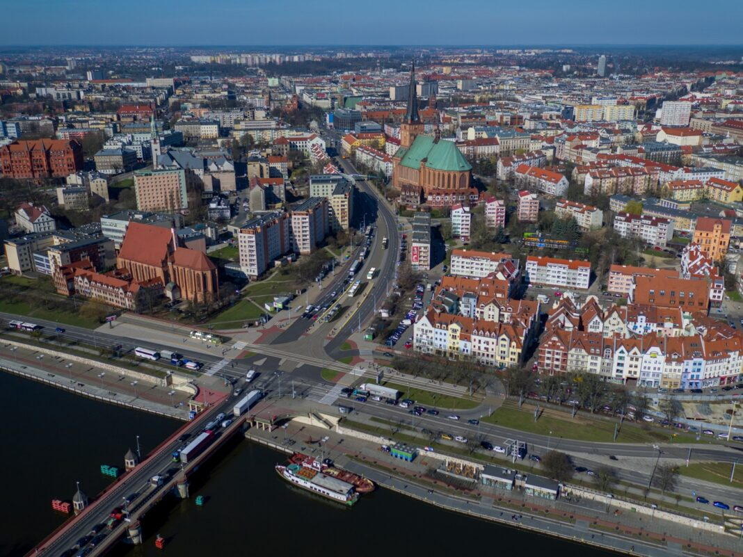 przebudowa węzeł Wyszyńskiego Szczecin komunikacja miejska maj 2020
