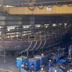 lodołamacze Szczecin budowa czerwiec 2020