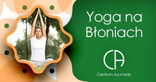 Yoga na Błoniach z Doktorem Akhilem z Indii
