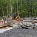 przebudowa węzeł Głębokie postęp prac czerwiec 2020