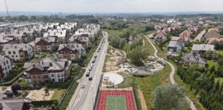 park Warszewo-Podbórz drugi etap gotowy
