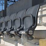 Stadion Miejski Szczecin krzesełka siedziska montaż