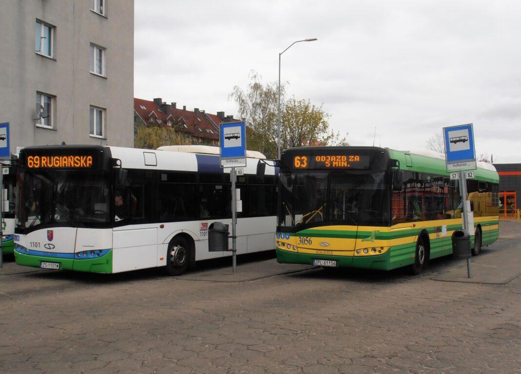 komunikacja miejska Szczecin wakacje 2020