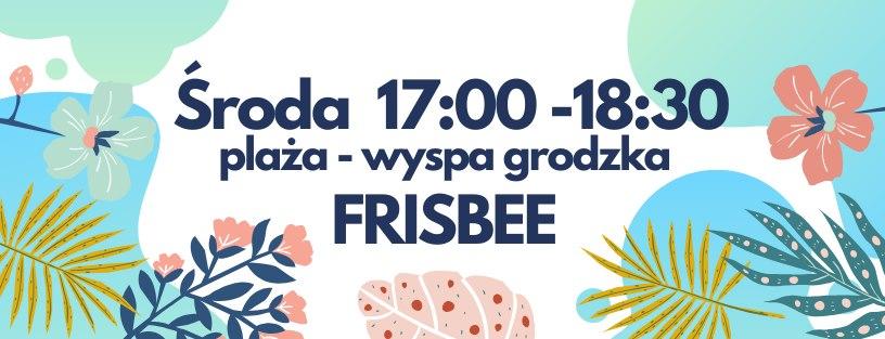 Bezpłatne warsztaty Frisbee na Bulwarach!