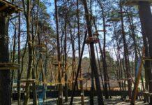 park linowy Tarzania otwarcie czerwiec 2020