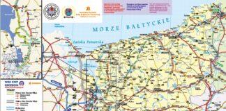 trasy alternatywne nad morze 2020 mapa