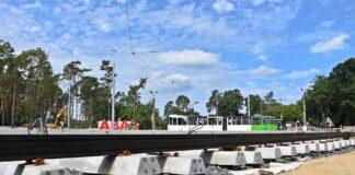 węzeł Głębokie pętla tramwajowa komunikacja miejska zmiany