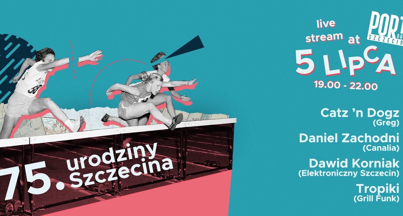 75 urodziny Szczecina Livestream #supportyourlocaldjs