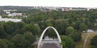 Teatr Letni Szczecin przebudowa postęp prac lipiec 2020
