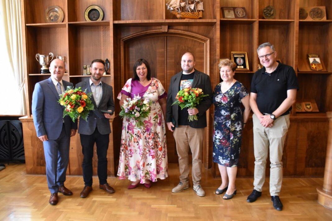 Ambasador Szczecina 2020 Laura Hołowacz Łona i Webber