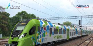 pociągi hybrydowe Pomorze Zachodnie umowa