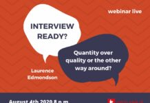 interview in English webinar