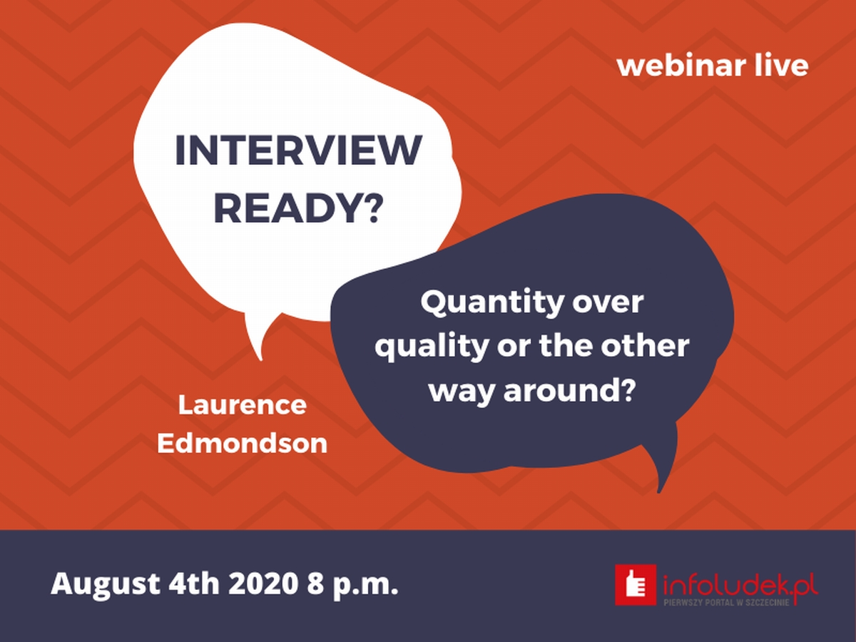 Interview Ready – How to prepare for an online job interview - live with Laurence Edmondson