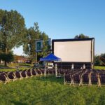 kino na leżakach Szczecin pokazy filmy lato 2020