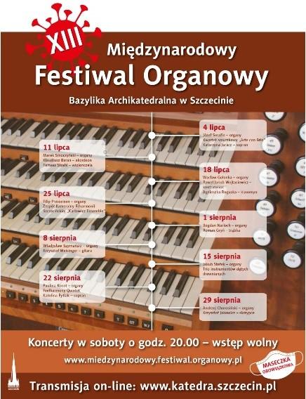 XIII Międzynarodowy Festiwal Organowy